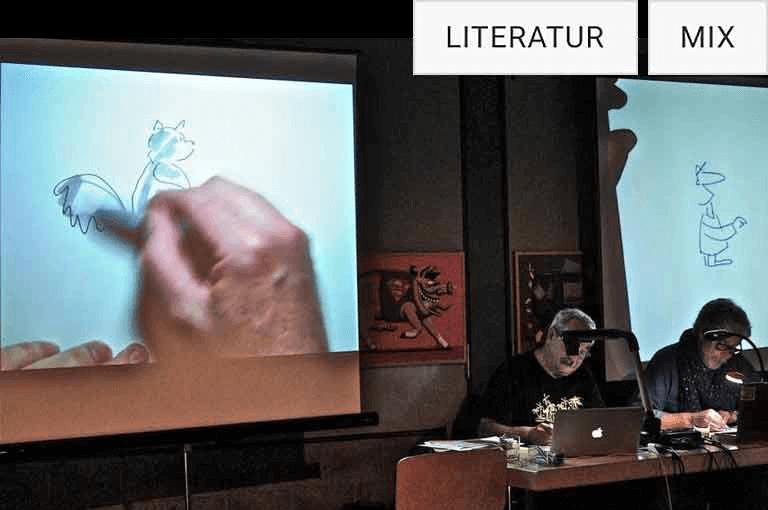 2. turbine Zmorge: Schaurig-schöne Kurzgeschichten & Live Cartoons
